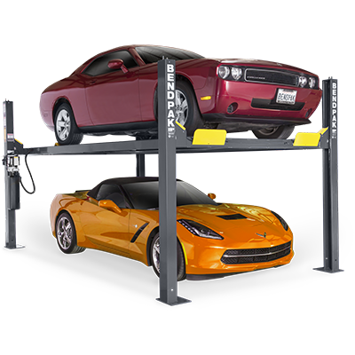HD-9 Series Four-Post Parking Lift by BendPak
