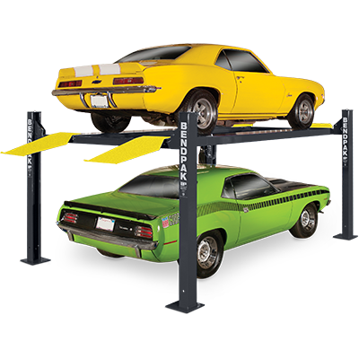 HD-9XL Extended Length Four-Post Parking Lift by BendPak