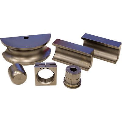 6-Piece Optional 76 mm Die Package for Pipe Benders