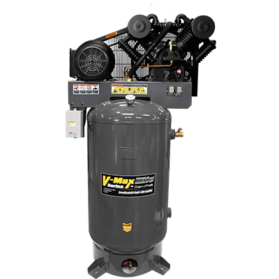 VMX-7580V-601 V-Max Elite Air Compressor / 7.5 HP / 303 L (80-gal) Vertical Tank / 208-230V, 60 HZ 1-Phase