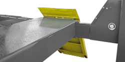 Four-Post lift Runway Ramps Wheel Chocks