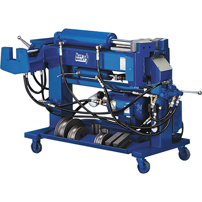 Manual Pipe Bender Blue-Bullet Pipe Bender