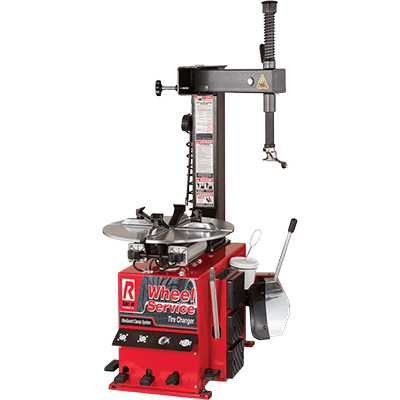 R745 Tire Changer / Swing Arm / 533 mm Capacity