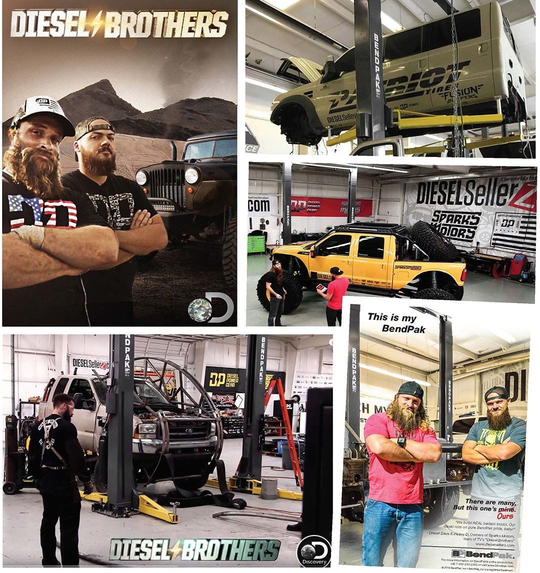 Diesel Brothers TV Show Discovery