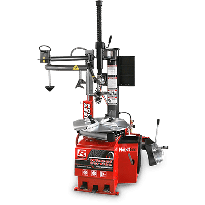 R980AT Tire Changer / Swing Arm / Single-Tower Assist / 533 mm Capacity