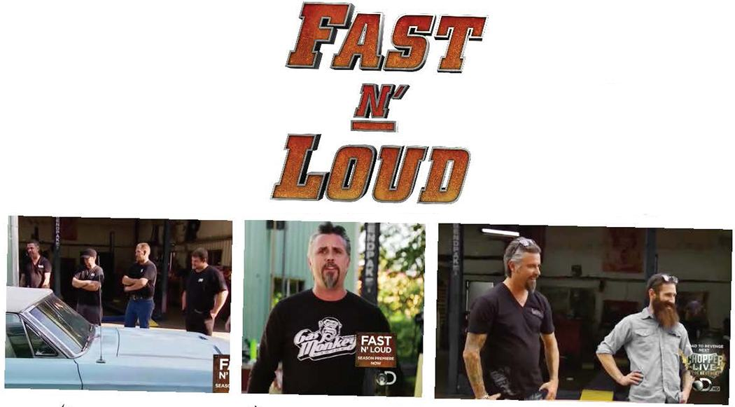 Fast-N-Loud TV Show with Richard Rawlings