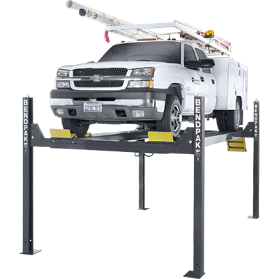 HD-14T 6,350-kg. Capacity / Four-Post Lift / Tall Lift / 2,083 mm Rise